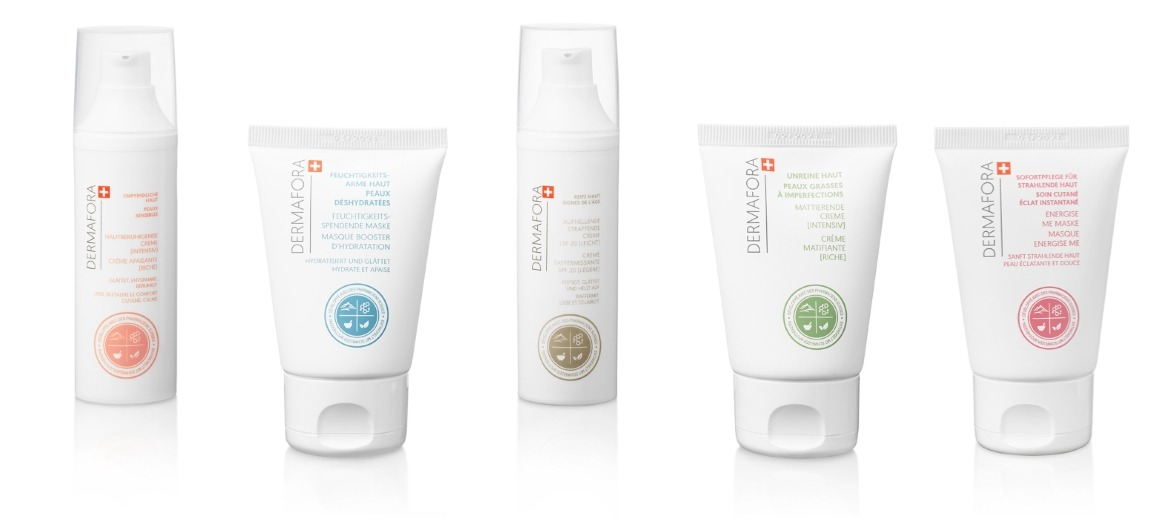 Dermafora Gamme de produits pour soin de la peau