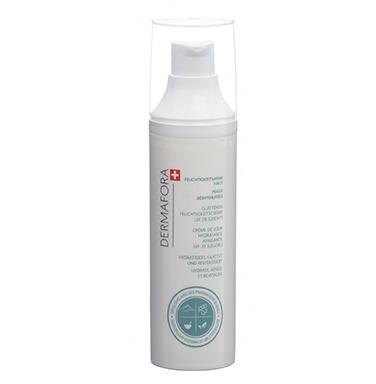 Dermafora PFLEGEN Glättende feuchtigkeitscreme LSF 20 (leicht) 50ML für Feuchtigkeitsarme Haut