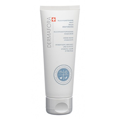Dermafora HYDRATER Crème mains hydratante 75ml pour peaux déshydratées