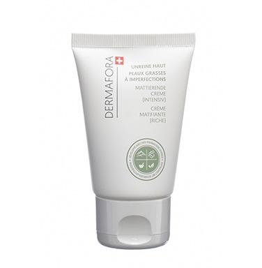 Dermafora HYDRATER Crème régulatrice de sébum matifiante (riche) 50ml pour peaux grasses à imperfections
